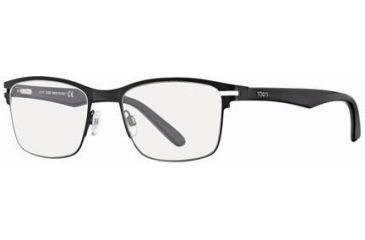 Tod's TO5051 Eyeglass Frames - Matte Black Frame Color