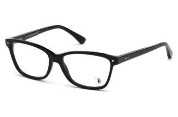 Tod's TO5085 Eyeglass Frames - Shiny Black Frame Color