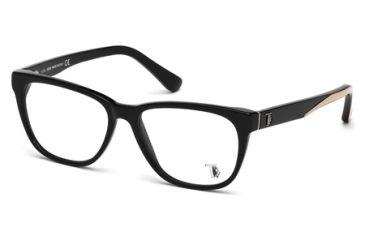 Tod's TO5087 Eyeglass Frames - Shiny Black Frame Color