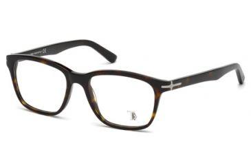Tod's TO5093 Eyeglass Frames - Dark Havana Frame Color