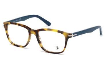 Tod's TO5093 Eyeglass Frames - Red Havana Frame Color