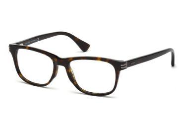 Tod's TO5104 Eyeglass Frames - Dark Havana Frame Color