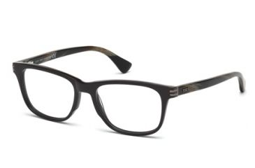 Tod's TO5104 Eyeglass Frames - Shiny Dark Brown Frame Color
