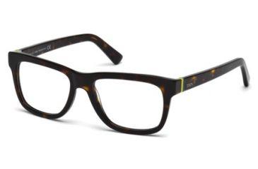 Tod's TO5117 Eyeglass Frames - Dark Havana Frame Color