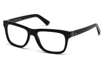 Tod's TO5117 Eyeglass Frames - Shiny Black Frame Color