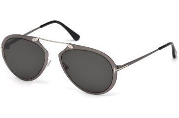851882c8d90d2 Tom Ford FT0508 Sunglasses - Shiny Gumetal Frame Color