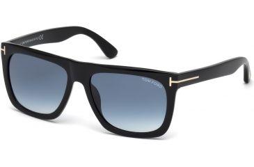a67a11d984c Tom Ford FT0513 Sunglasses - Shiny Black Frame Color
