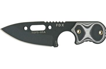 Tops Knives FDX Field Duty ExtremePear Point TPFDX10