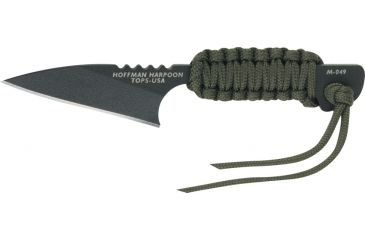 Tops Knives Mini Hoffman Harpoon Fixed Blade Knife TPHOFHARMINI