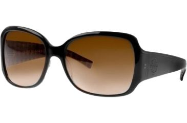 Tory Burch Tory C04 Sunglasses Ty7004 50195 5817 Black Grey Orange Fade