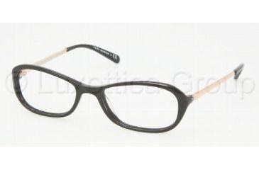 Tory Burch TY2004 SV Prescription Eyeglasses Black Frame / 52 mm Prescription Lenses, 501-5217