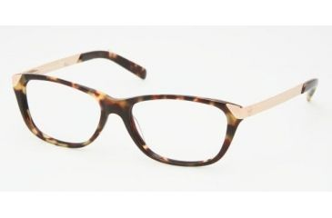 Tory Burch TY 2005 Eyeglasses Styles Vintage Tort Frame w/Non-Rx 51 mm Diameter Lenses, 517-5115