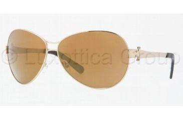 Tory Burch TY 6005 Sunglasses Styles Gold Frame / Gold Mirror Lenses, 101-97-6311