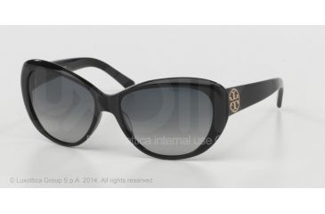 7831f1eea2e3 Tory Burch TY7005 SV Prescription Sunglasses Black Frame   56 mm  Prescription Lenses