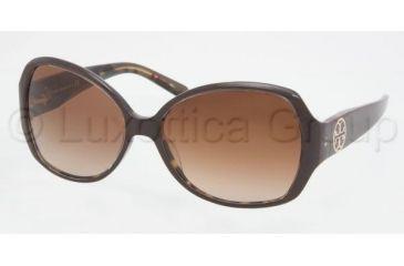 Tory Burch TY7019 Single Vision Prescription Sunglasses TY7019-914-13-5815 - Lens Diameter: 58 mm, Frame Color: Coconut / Tort