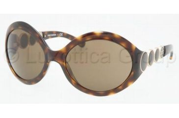 Tory Burch Tory E01 TY9002 Single Vision Prescription Sunglasses TY9002-510-73-6119 - Frame Color: Tortoise, Lens Diameter: 61 mm