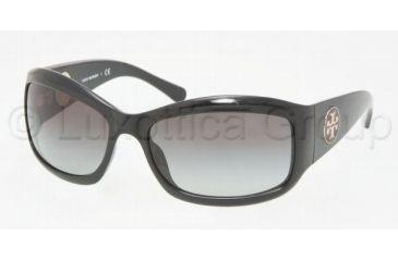 Tory Burch TY9004 Progressive Prescription Sunglasses TY9004-501-11-6017 - Frame Color: Black, Lens Diameter: 60 mm