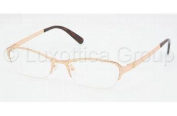 Tory Burch TY1012 Single Vision Prescription Eyewear 101-5017 - Gold