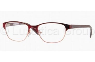 Tory Burch TY1015 Single Vision Prescription Eyewear 346-4916 - Burgundy Pink