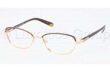 e8e351186c Tory Burch TY1019 Progressive Prescription Eyeglasses 364-5016 - Coconut  Gold