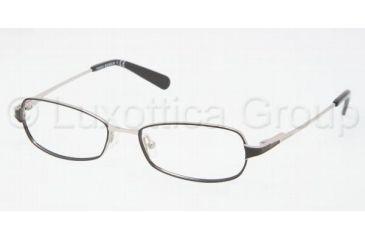 Tory Burch TY1024 Bifocal Prescription Eyeglasses 384-5216 - Black Silver Frame