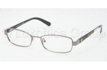 Tory Burch TY1027 TY1027 Single Vision Prescription Eyeglasses 103-5017 - Gunmetal Frame