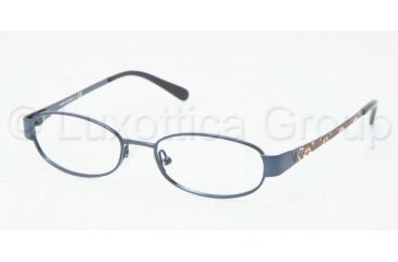 Tory Burch TY1029 Progressive Prescription Eyeglasses 414-4916 - Navy Frame, Demo Lens Lenses