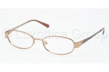 Tory Burch TY1029 Progressive Prescription Eyeglasses 416-4916 - Taupe Frame, Demo Lens Lenses