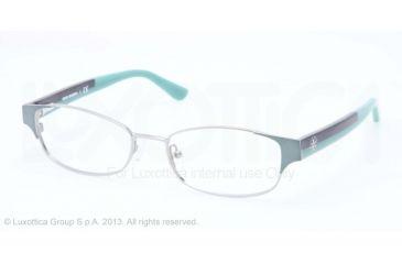 Tory Burch TY1037 Progressive Prescription Eyeglasses 3002-50 - Mint Silver Frame