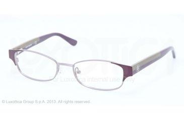 Tory Burch TY1037 Progressive Prescription Eyeglasses 3004-50 - Plum Gunmetal Frame