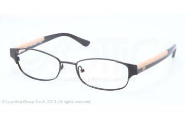 Tory Burch TY1037 Progressive Prescription Eyeglasses 3009-50 - Black Cream Frame