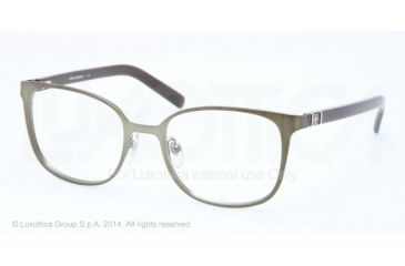 Tory Burch TY1039 Bifocal Prescription Eyeglasses 3035-50 - Brushed Leaf Gold Frame
