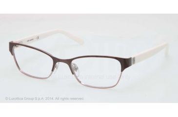 Tory Burch TY1040 Single Vision Prescription Eyeglasses 3030-51 - Satin Pink Gunmetal Frame