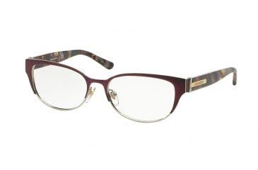 49a3c4bccfd8 Tory Burch TY1045 Eyeglass Frames 3125-52 - Bordeaux porchini Tort Frame