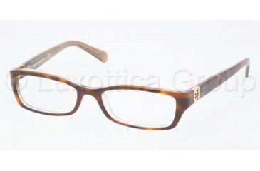 Tory Burch Ty2010 Eyeglasses TY2010 with No-Line Progressive Rx Prescription Lenses 1033-4916 - Tortoise/Gold