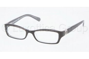 Tory Burch Ty2010 Eyeglass Frames TY2010 1034-4916 - Black/Charcoal