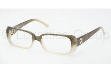 Tory Burch TY2020 TY2020 Single Vision Prescription Eyeglasses 1046-5014 - Olive Faded Frame