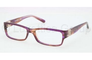 Tory Burch TY2024 TY2024 Progressive Prescription Eyeglasses 1079-5115 - Light Brown Horn Frame