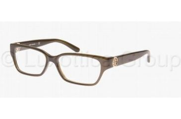 0553d6dd52c3 Tory Burch TY2025 TY2025 Single Vision Prescription Eyeglasses 735-5114 -  Olive Frame