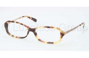 Tory Burch TY2029 TY2029 Single Vision Prescription Eyeglasses 504-5315 - Spotty Tort Frame