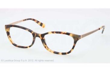 Tory Burch TY2030 TY2030 Progressive Prescription Eyeglasses 504-50 - Spotty Tortoise Frame