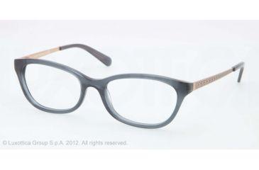 Tory Burch TY2030 TY2030 Progressive Prescription Eyeglasses 849-50 - Smoke Blue Frame