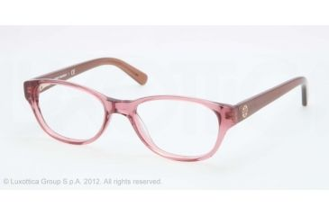 Tory Burch TY2031 Eyeglass Frames 1163-49 - Rose Taupe Frame, Demo Lens Lenses