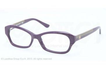Tory Burch TY2037 Bifocal Prescription Eyeglasses 1247-49 - Plum Frame