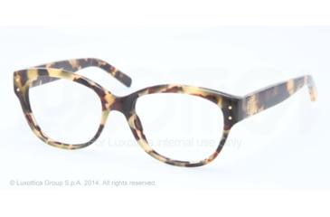 Tory Burch TY2040 Progressive Prescription Eyeglasses 1287-52 - Vintage Tortoise Frame