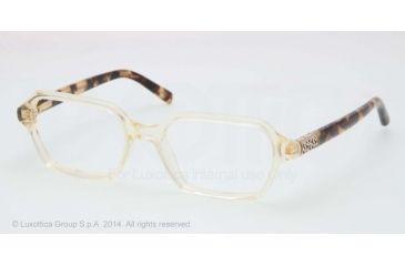 Tory Burch TY2043 Progressive Prescription Eyeglasses 1275-50 - Pinot Vintage Tortoise Frame