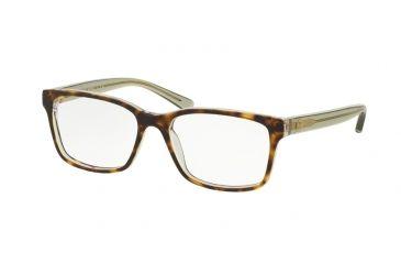 cf9c444ded Tory Burch TY2064 Eyeglass Frames 1561-50 - Crystal Tortoise bottle Green  Frame