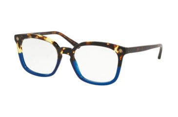 e2a37cc668f0 Tory Burch TY2094 Prescription Eyeglasses 1755-52 - Vintage Tortoise / Blue