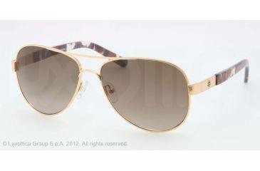 Tory Burch TY6010 TY6010 Bifocal Prescription Sunglasses TY6010-362-13-5714 - Lens Diameter 57 mm, Frame Color Gold Matmi