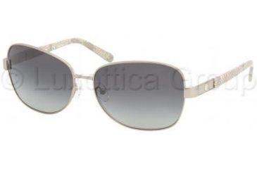 Tory Burch Ty6011 Sunglasses TY6011 103/T3-5814 - Gunmetal Grey Gradient Polarized